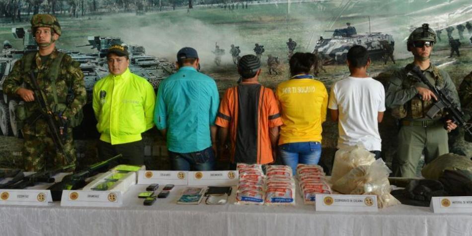 En Caquetá fueron capturados cuatro disidentes de las Farc