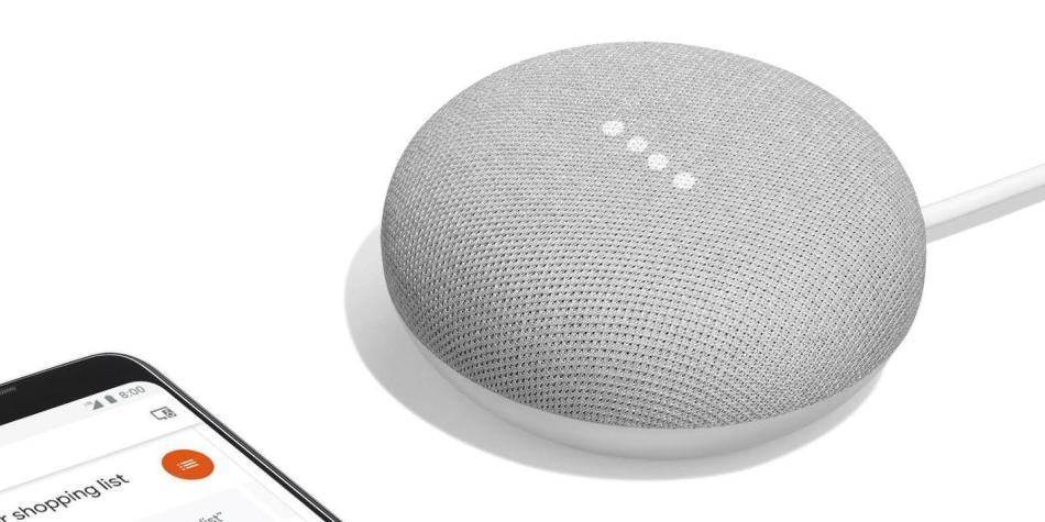 Google Mini Home y Pixel 2