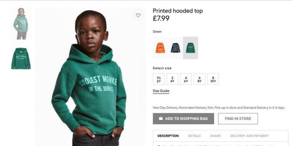 5fecfcdc0c2f7f Polémica por racismo de la marca H&M - Educación - Vida - ELTIEMPO.COM