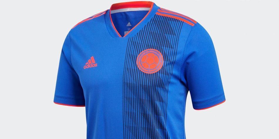 f36fb3d24ab Se filtra el uniforme alterno de Colombia para el Mundial Rusia 2018 ...