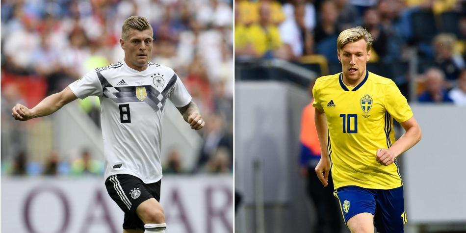 Alemania vs Suecia   Horario 7b711b4651673
