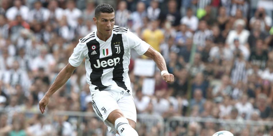 5e4760c84757c Así fue el primer gol de Cristiano Ronaldo con la Juventus - Fútbol ...