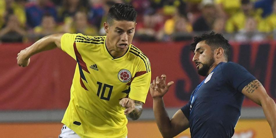 Resultado de imagen para Colombia le gana Estados Unidos