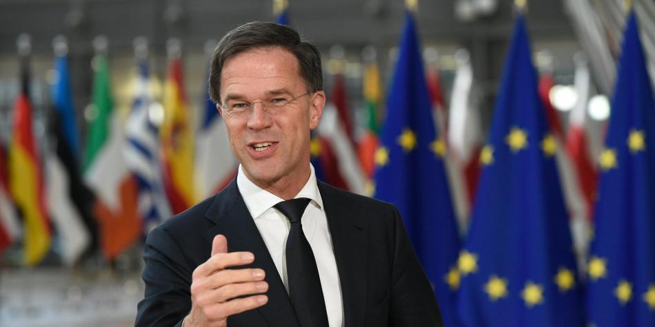 Mark Rutte, primer ministro del Reino de los Países Bajos