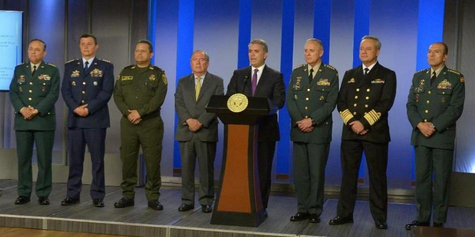 COLOMBIA. Nueva cúpula militar