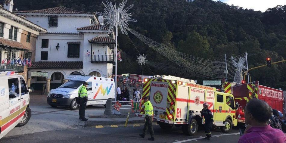 Accidente en funicular de Monserrate deja al menos 20 heridos