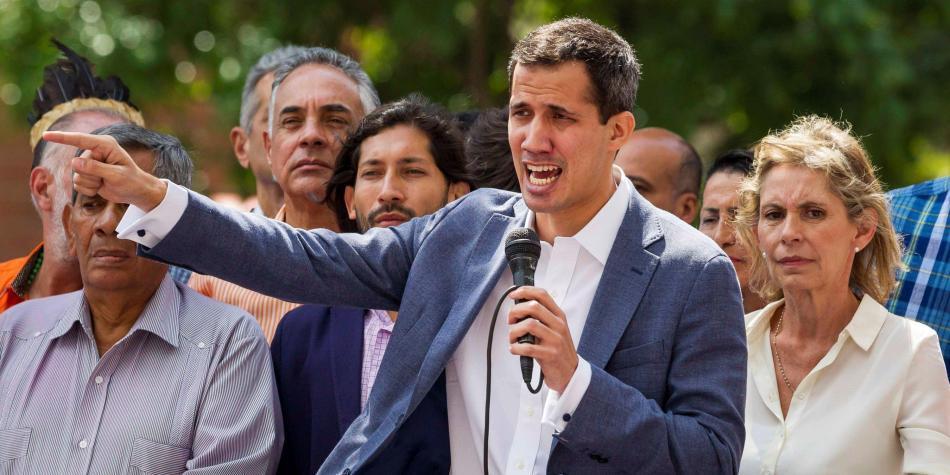 Guaidó pide ayuda