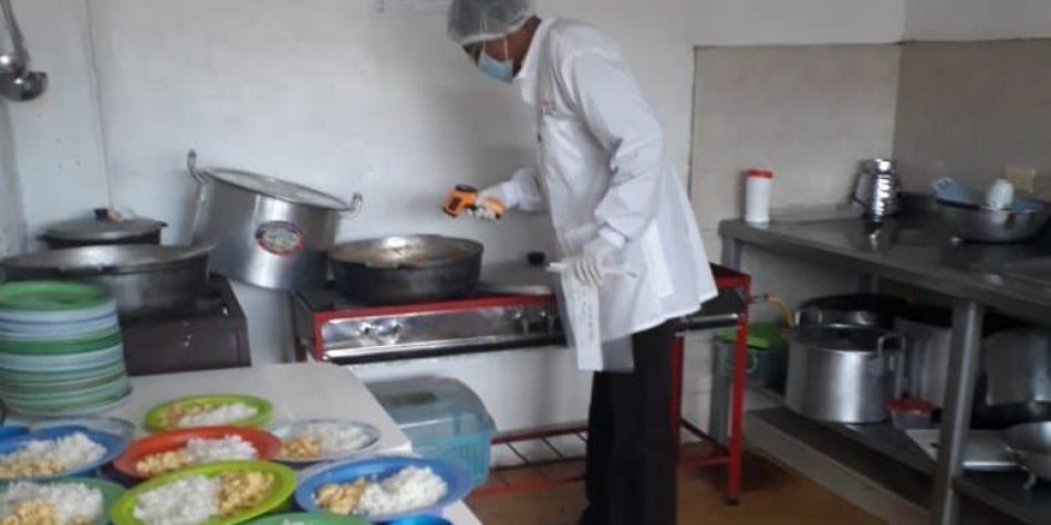 Control a comedores escolares que hacen parte del PAE - Cali ...