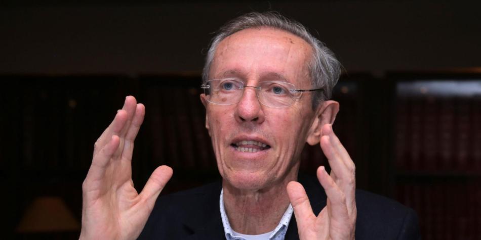 Antonio Navarro, aspirante a la Alcaldía de Bogotá