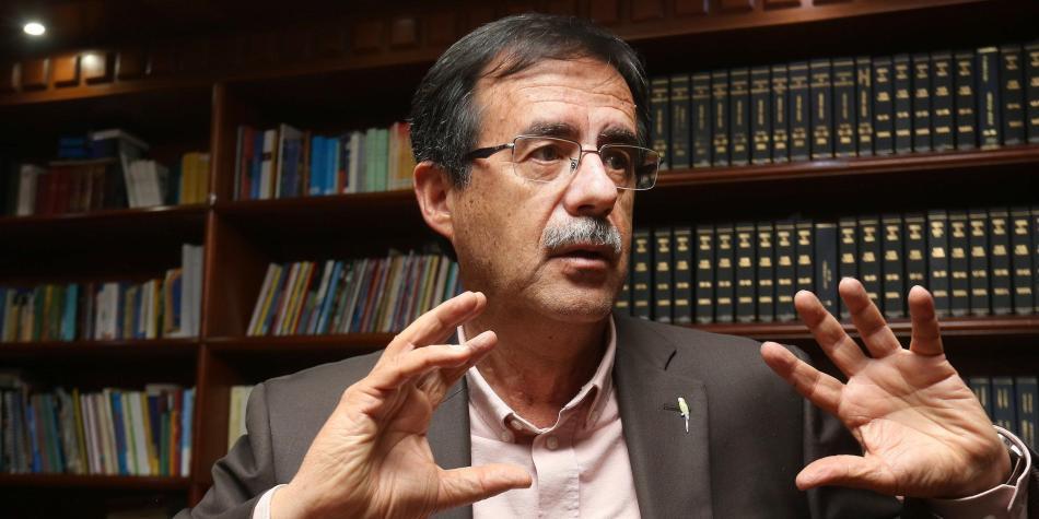Celio Nieves Herrera, candidato del Polo a la Alcaldía de Bogotá.