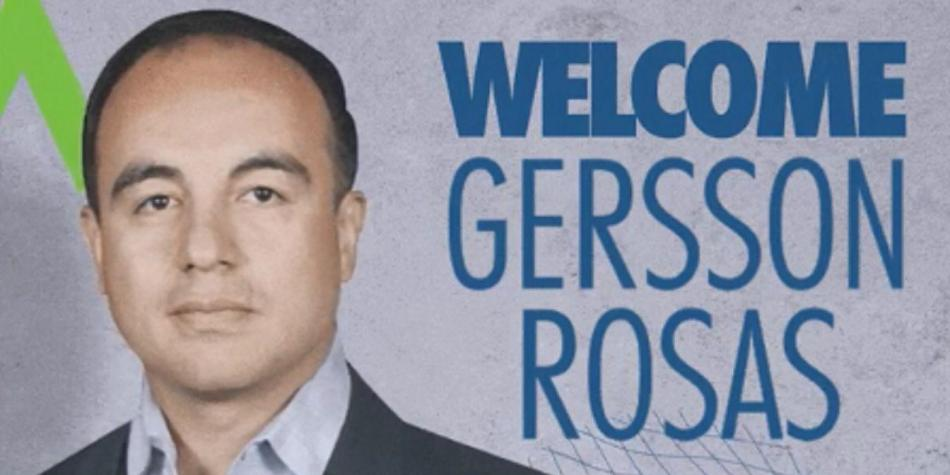 gersson rosas el colombiano que ser presidente de un