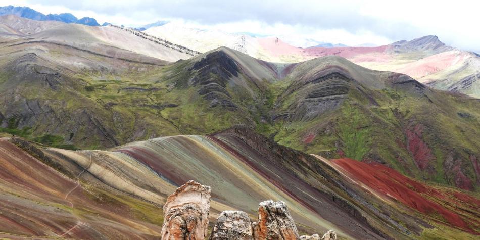 La montaña de colores