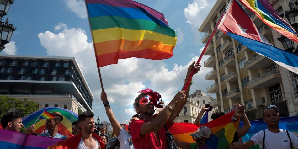 Marcha gay reprimida en La Habana