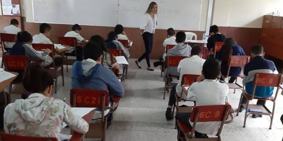 En seis colegios de Colombia se aplicó la prueba  ERCE de la Unesco