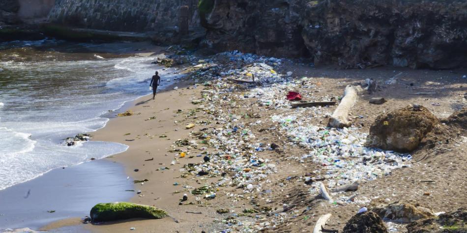 Contaminación mar Caribe