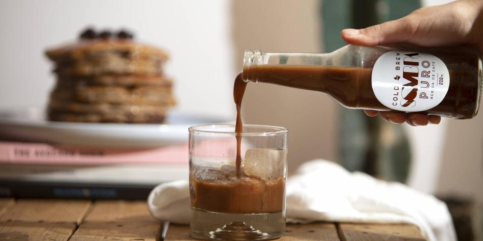 Cold Brew (Café hecho en frío) marca Sombra