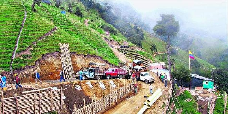 Habitantes de Cajamarca votan NO a la minería en el municipio