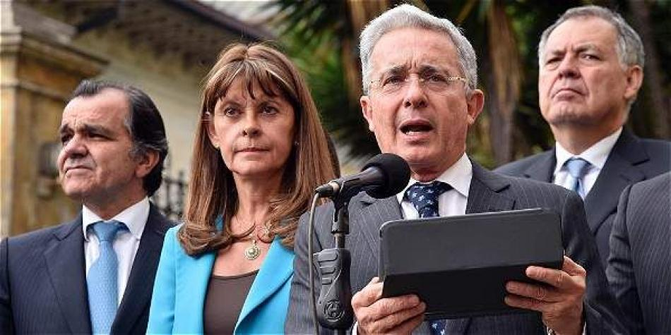 'Uribe merece ejercer su defensa en libertad': Vicepresidenta
