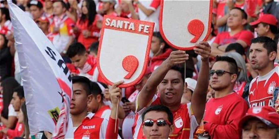 Reacción de hinchas de Santa Fe a la noticia de la salida de Carreño