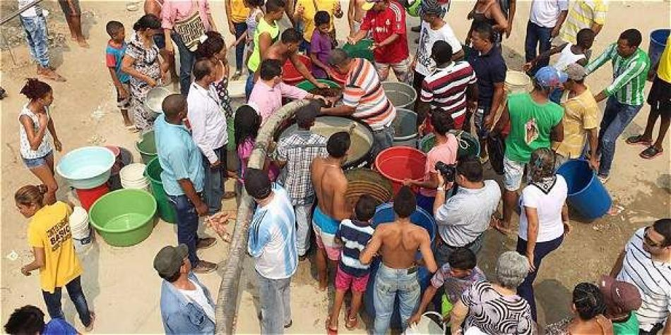 Veolia pide a samarios encomendarse a Dios para que llueva y haya agua