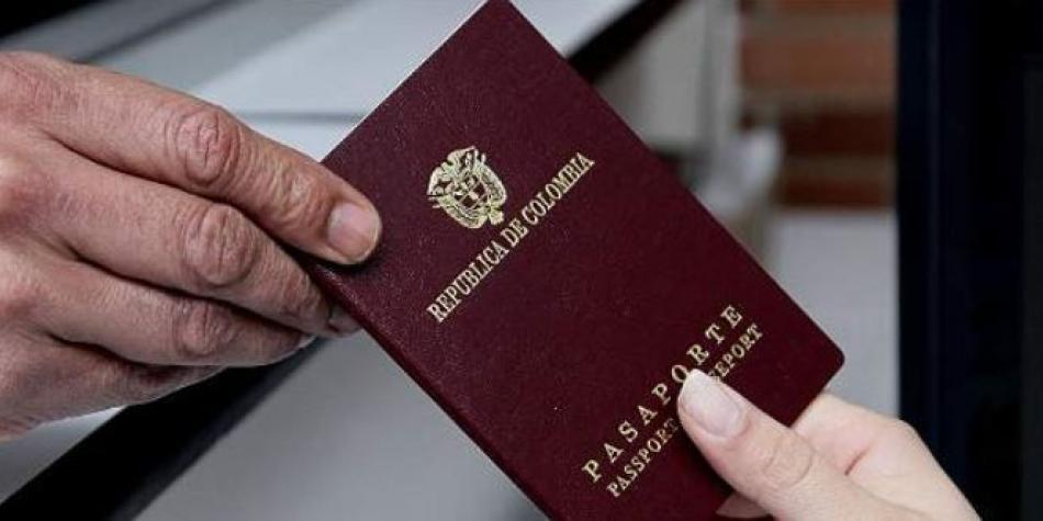 Resultado de imagen para pasaporte colombia