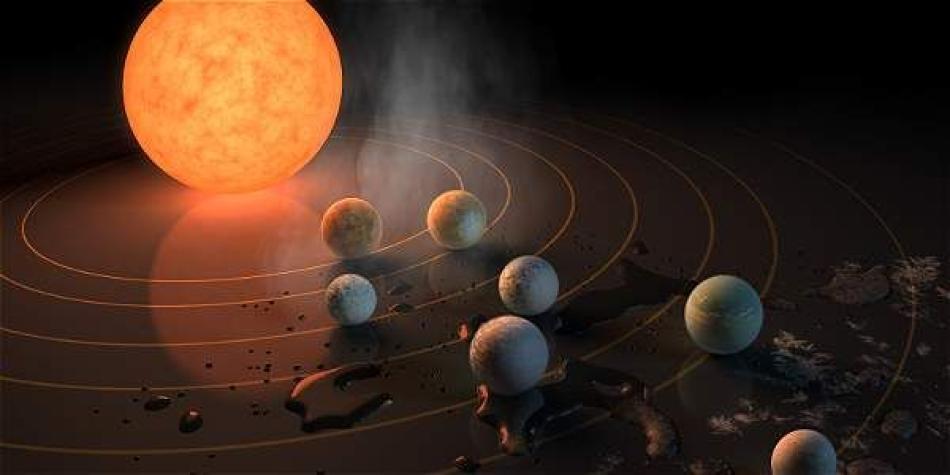 El nuevo sistema solar donde habría vida similar a la de la Tierra