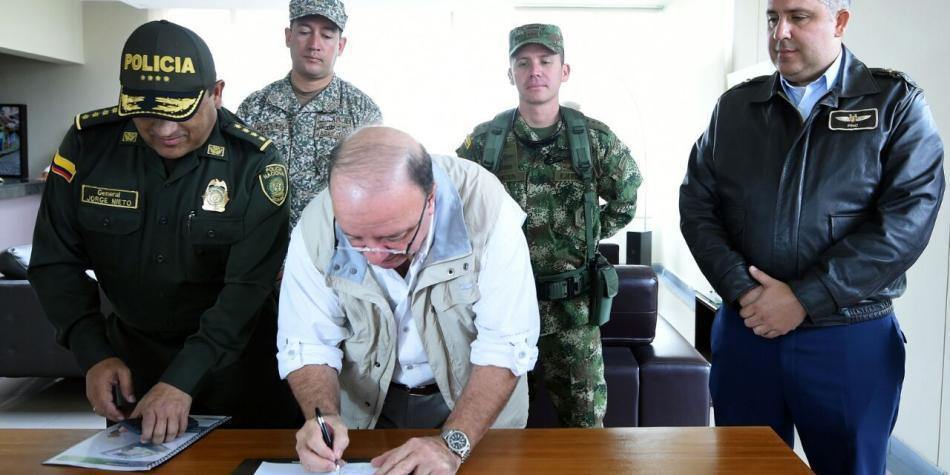 Mindefensa solicitó libertad de 817 miembros de la fuerza pública