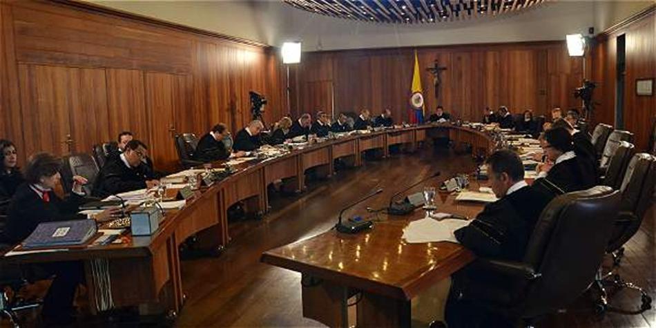 Corte Suprema eligió primera terna para magistrado de la Corte Constitucional