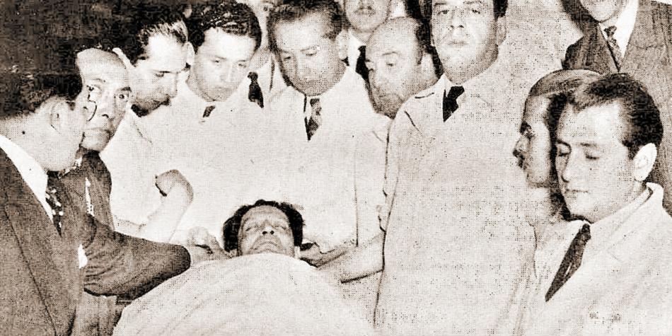 En una zorra fue transportado el cuerpo de Jorge Eliecer Gaitán