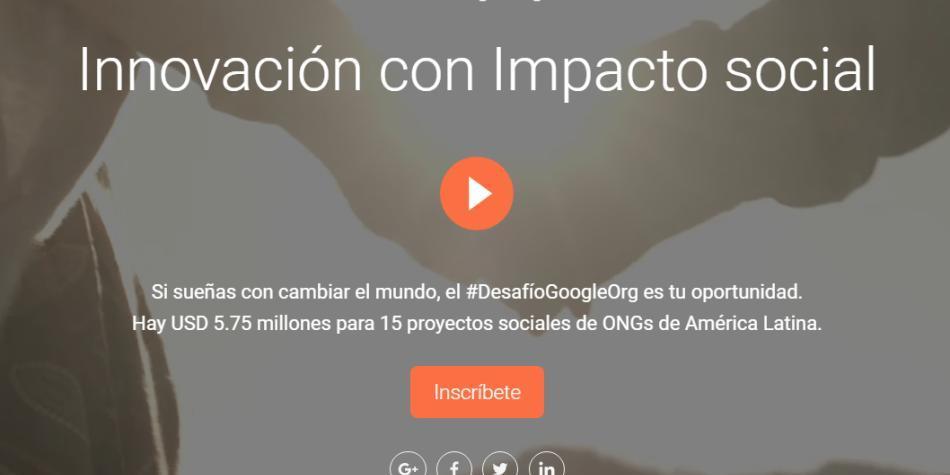 Google donará más de US$ 5 millones en América Latina