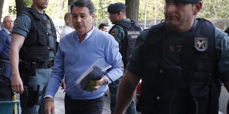 Detenido por corrupción el expresidente regional de Madrid Ignacio González