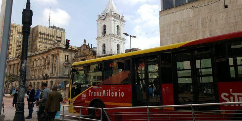 Cinco rutas de Transmilenio regresan este sábado al Eje Ambiental de Bogotá
