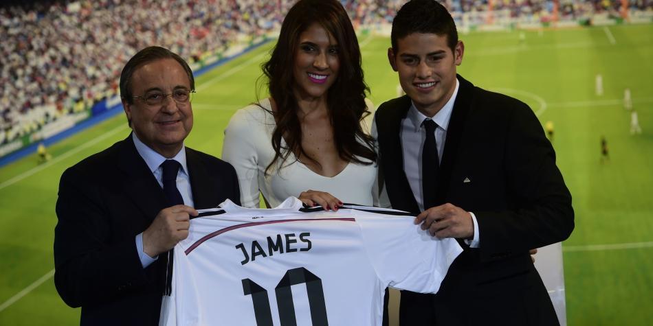 Daniela Ospina habla sobre el futuro de James en el Real Madrid