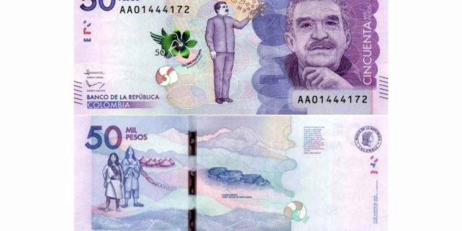 Cómo comprobar que un billete de 50.000 pesos no es falso