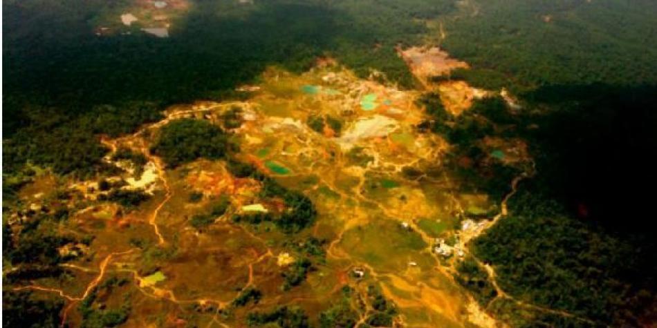 Minería ilegal en Chocó