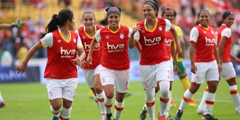 Santa Fe buscará el título femenino ante Huila