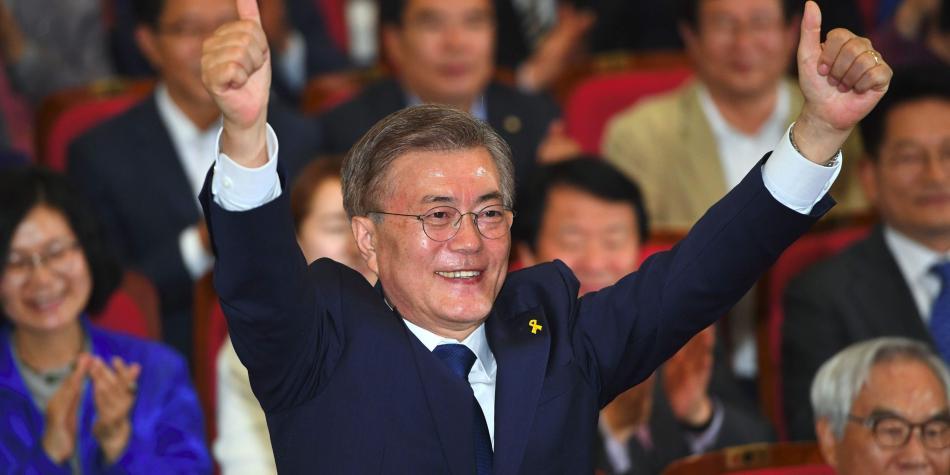 El liberal Moon gana las elecciones en Corea del Sur