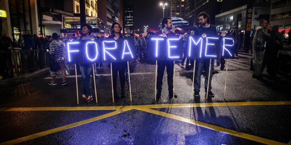Presidente Maduro se solidarizó con lucha por la democracia del pueblo brasilero