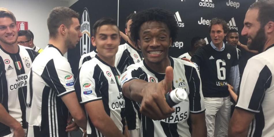 'Me he ganado un lugar en Juventus y eso me tiene contento': Cuadrado