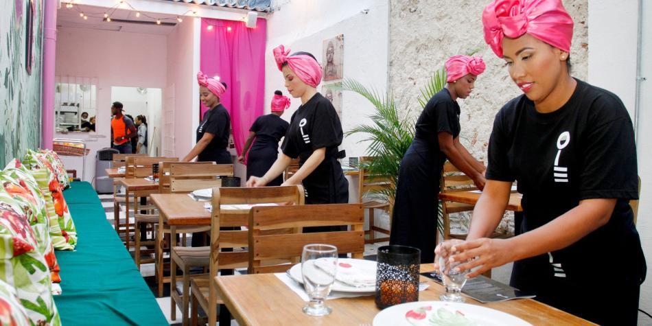Resultado de imagen para Restaurante Interno (San Diego en Cartagena)