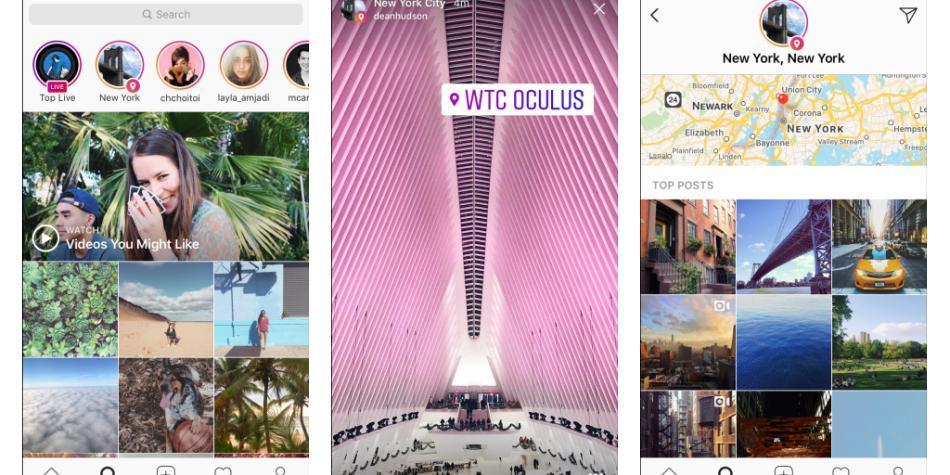 Ahora puedes explorar Instagram Stories por ubicación y hashtag