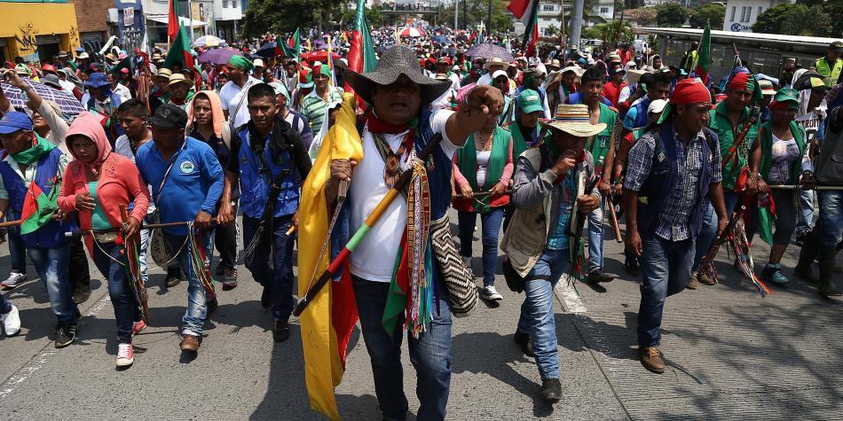 Derechos De Los Pueblos Indigenas En Colombia Servicios Justicia