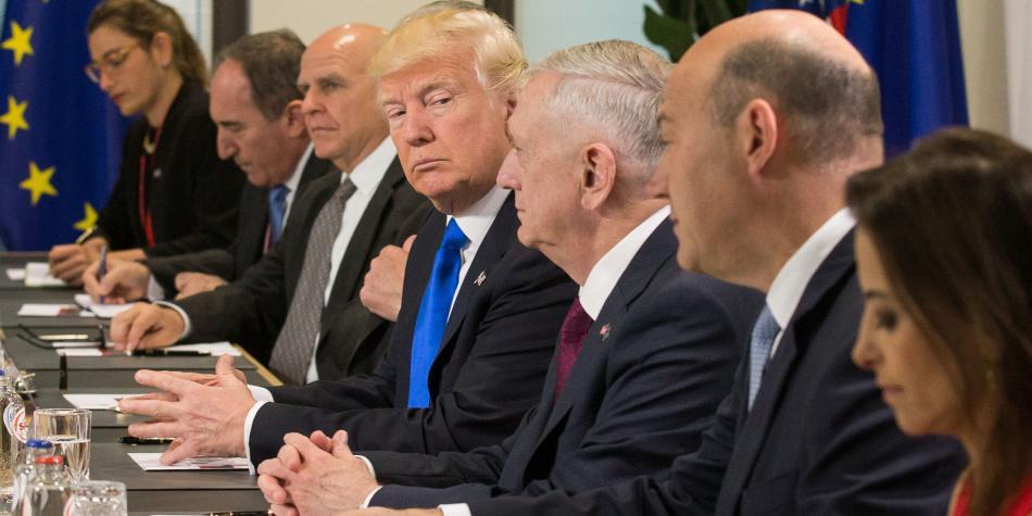 Donald Trump promete ante la OTAN firme lucha contra el terrorismo