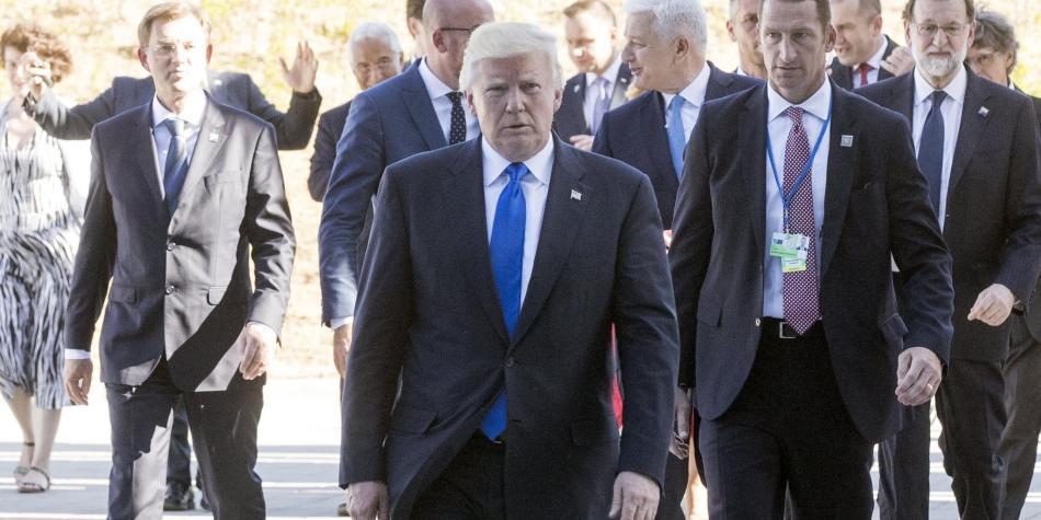 Trump: Filtraciones de información confidencial son grave amenaza a seguridad