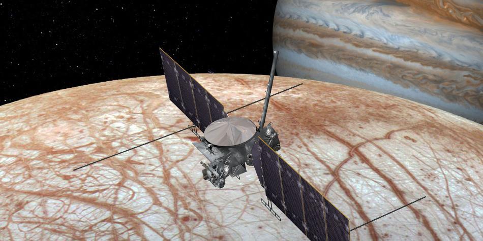 Primera imagen de los anillos de Júpiter desde dentro tomada por Juno