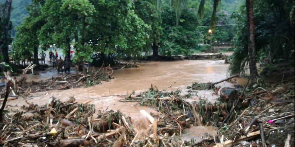 Intensas lluvias causan emergencia en Bahía Solano (Chocó)