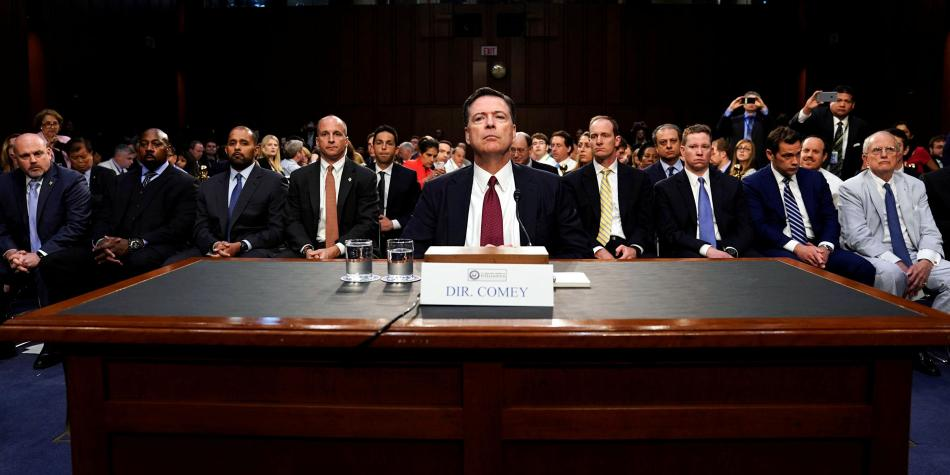 James Comey testifica ante el Congreso