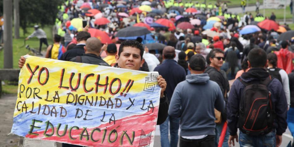 Santos celebra acuerdo entre Gobierno y Fecode