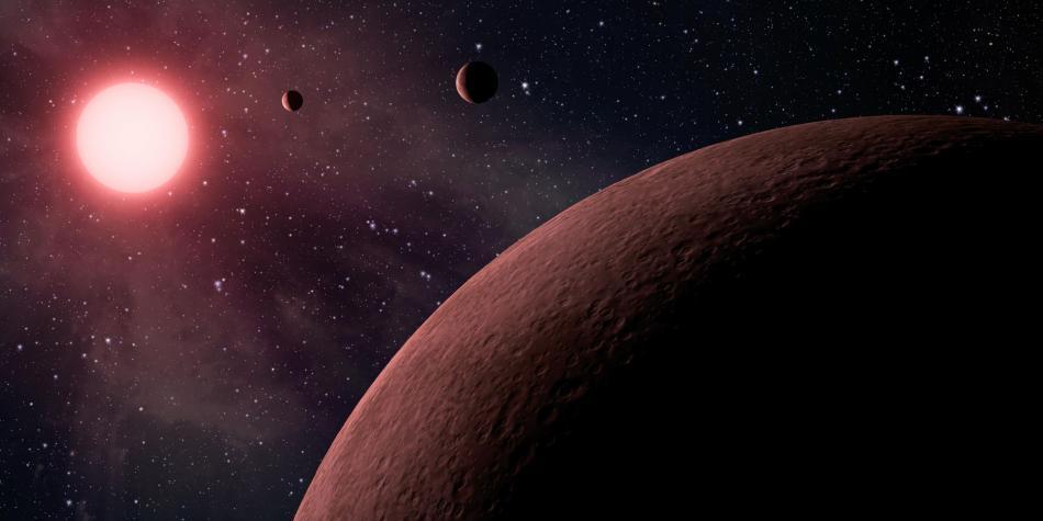 Descubren cinco exoplanetas en la Vía Láctea