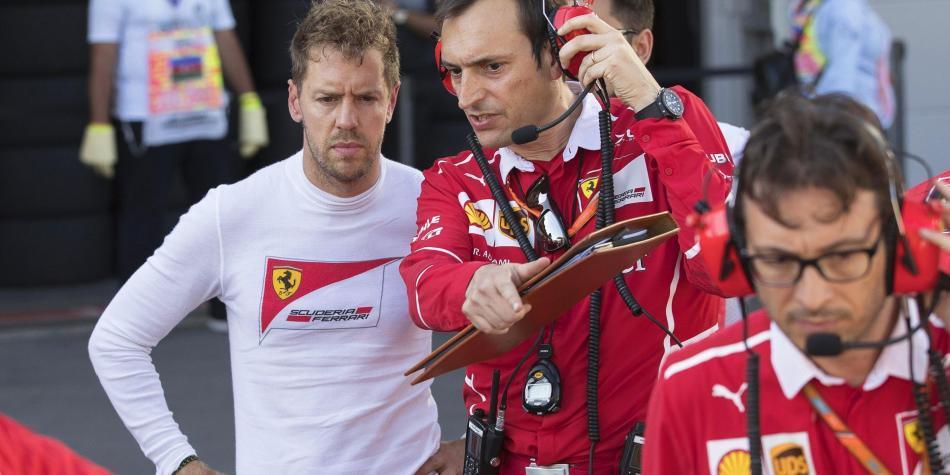 FIA investigará accidente entre Vettel y Hamilton